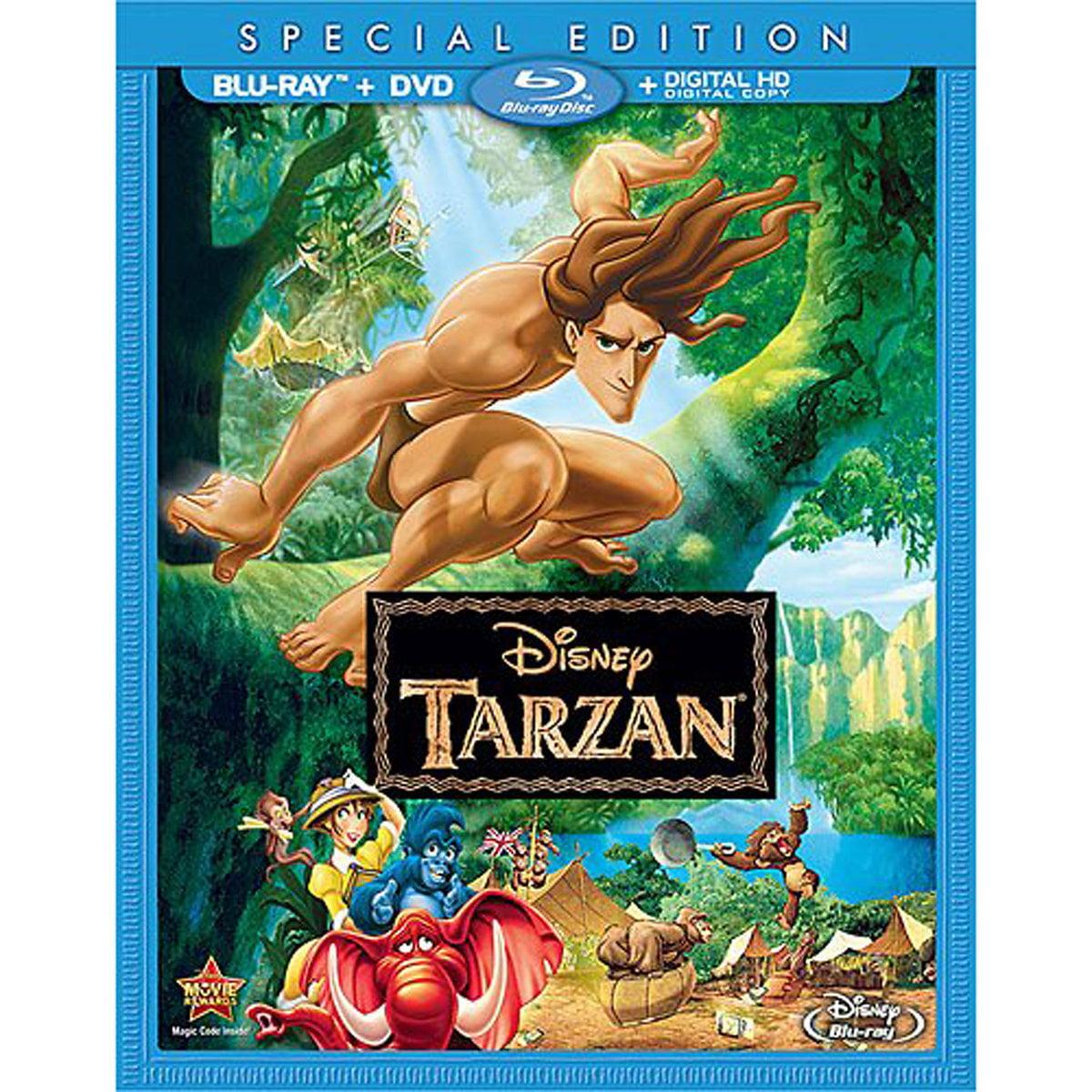 Tarzan (Special Edition) (Blu-ray + DVD + Digital HD)