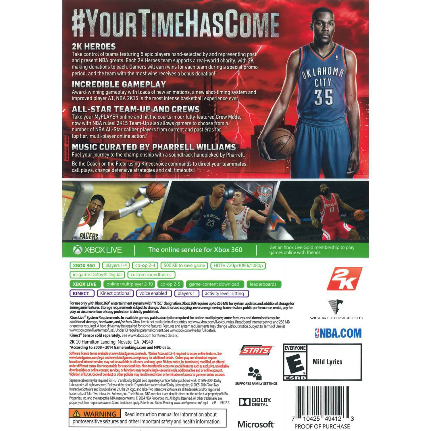 The description of Tips For NBA 2K18 new Guide
