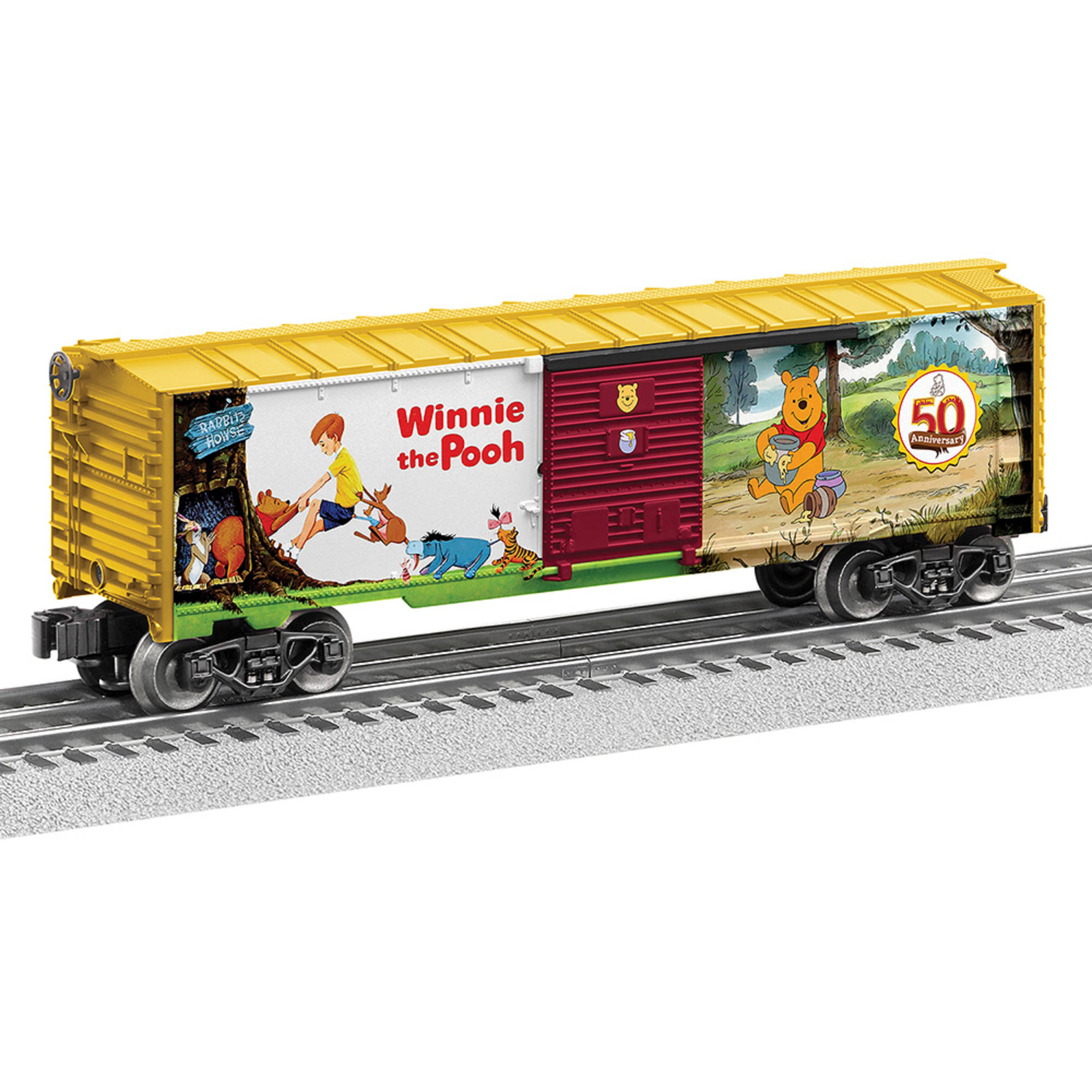 Lionel Disney Winnie the Pooh Boxcar by Lionel Trains