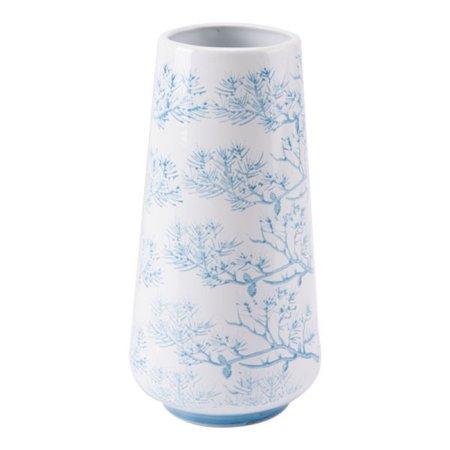 Flower Vases For Living Room Decorative Centerpiece Vase Small Blue