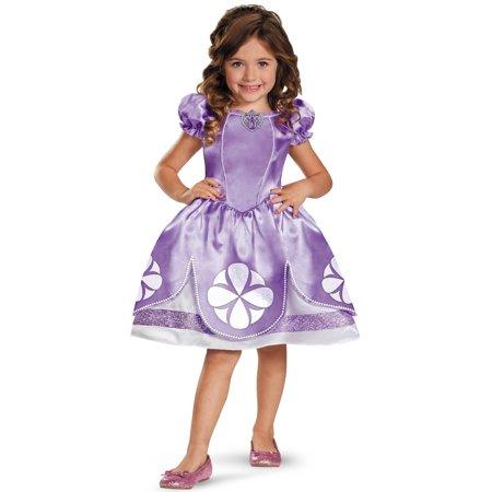 Disney Junior Sofia The First Classic Girls Costume Dress Medium (Baby's First Halloween Costume Ideas)