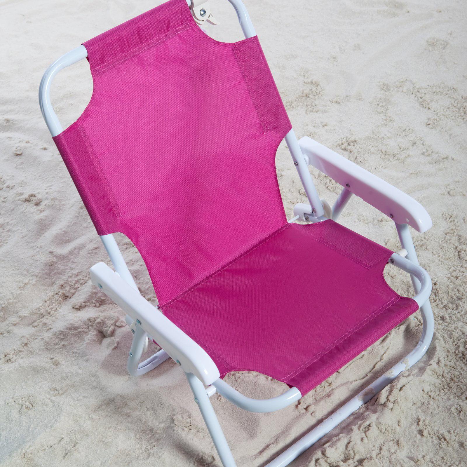 Pink Garden Furniture Kids pink beach chair amp umbrella walmart workwithnaturefo