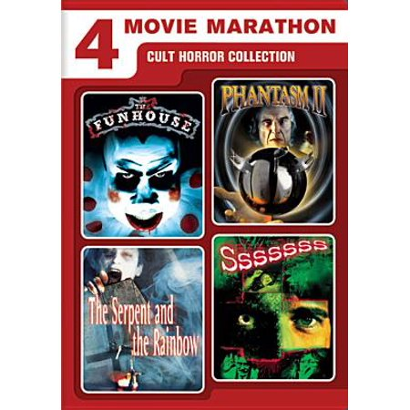 4 Movie Marathon: Cult Horror Collection (DVD) - Halloween Horror Movies On Netflix