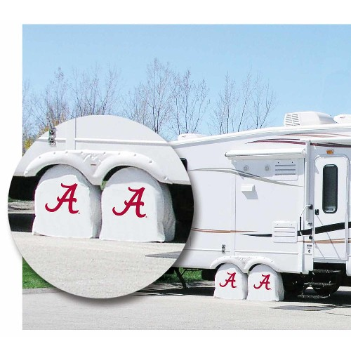 NCAA Tire Shade by Holland Bar Stool, University of Alabama Script A Logo - 31.25'' x 12