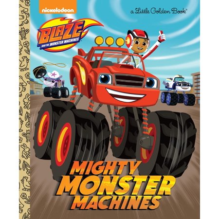 Mighty Monster Machines (Blaze and the Monster - Blaze The Cat Halloween