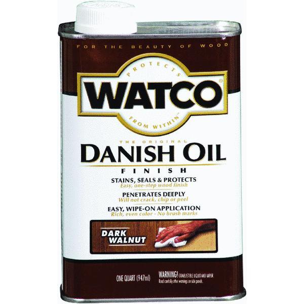 Watco 1 Quart Dark Walnut Danish Oil Finish