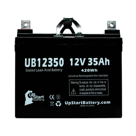 Kawasaki KAF950 Mule 3010 Diesel Battery Replacement - UB12350 Universal  Sealed Lead Acid Battery (12V, 35Ah, 35000mAh, L1 Terminal, AGM, SLA)