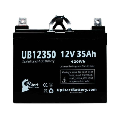 2x Pack - Dyna Ray DR7097SG Battery Replacement - UB12350 Universal Sealed Lead Acid Battery (12V, 35Ah, 35000mAh, L1 Terminal, AGM, SLA) - image 1 de 4