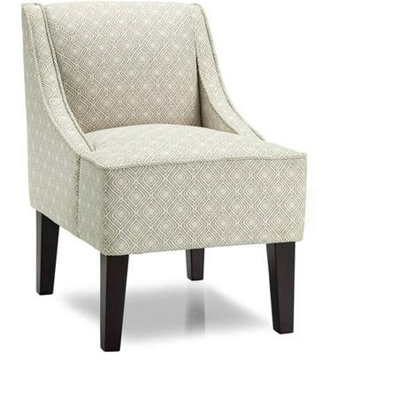 Stupendous Kebo Chair Black And White Geometric Pattern With Dark Leg Short Links Chair Design For Home Short Linksinfo