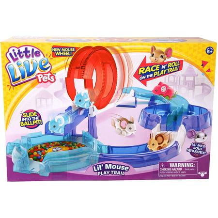 Little Live Pets Mouse S2 Track - Best Action Figure Playsets