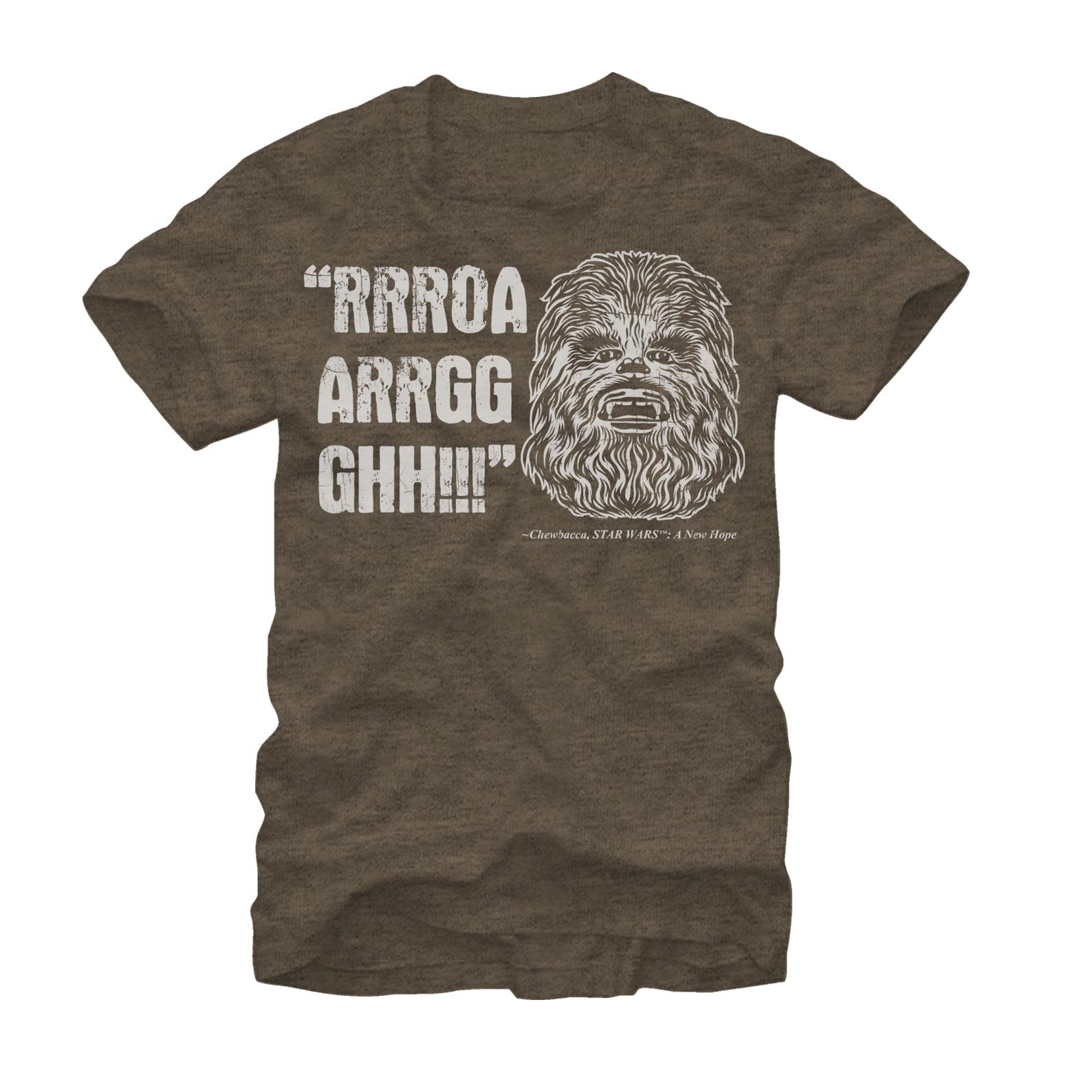 Star Wars Men's Chewbacca Quote T-Shirt