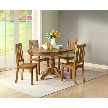 Better Homes And Gardens Bankston Dining Chair Set Of 2 Honey Best Dining Chairs