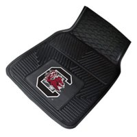 "South Carolina 2-pc Vinyl Car Mats 17""x27"""