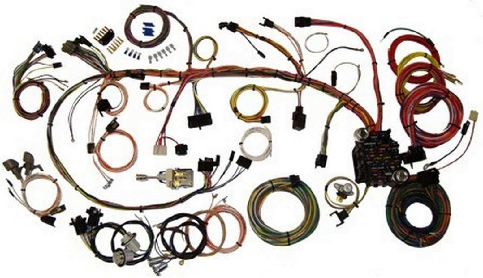 1973 Camaro Dash Wiring Detailed Schematics Diagram 1970 Brake American Autowire System 73 Kit P N 510034 1969