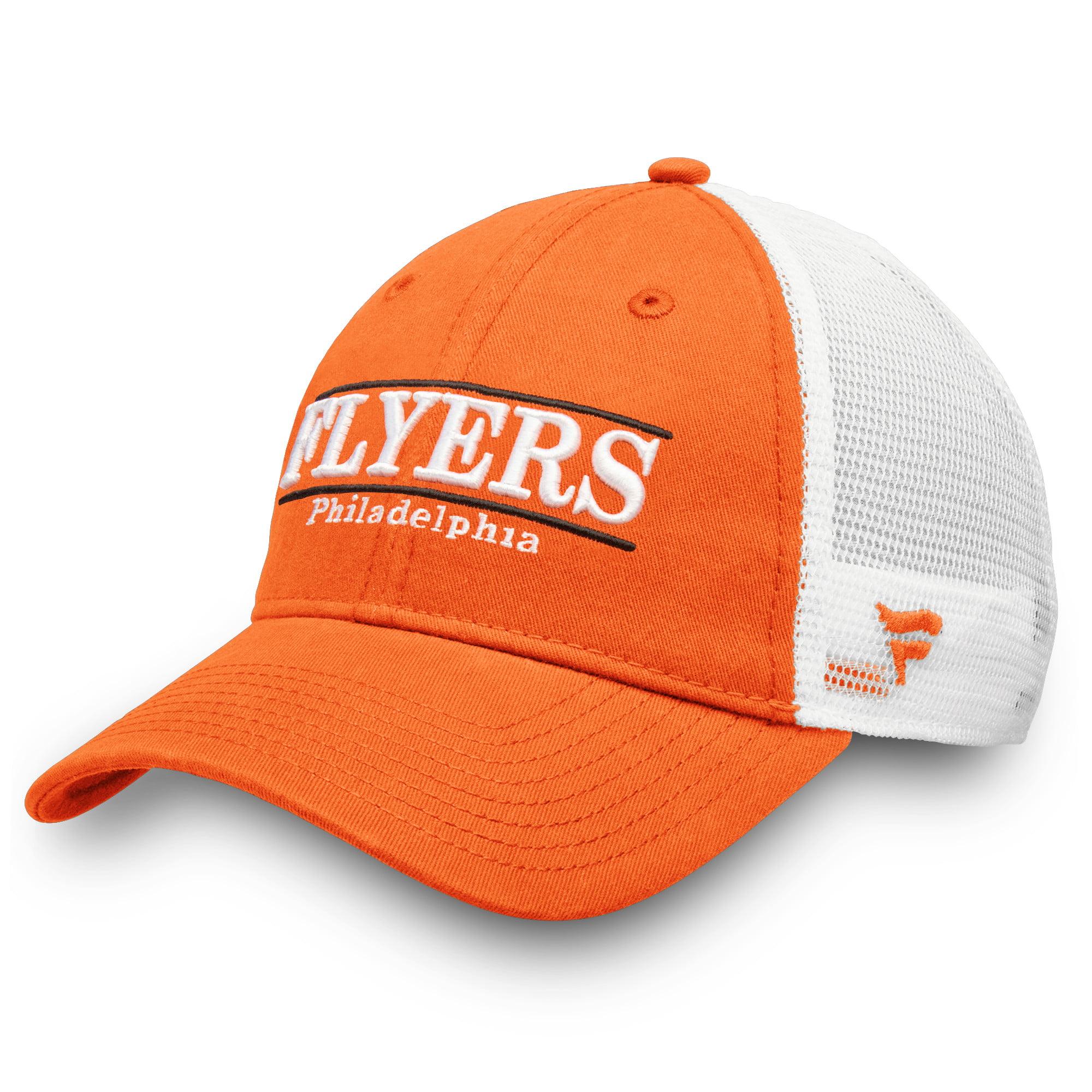 Philadelphia Flyers Fanatics Branded Trucker Team Color Adjustable Hat - Orange - OSFA
