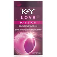K-Y Love Passion Couples Pleasure Gel Intimate Lubricant, 1.69 oz