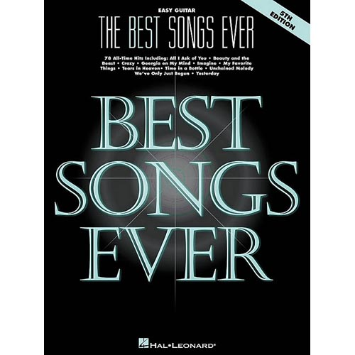 The Best Songs Ever: Easy Guitar