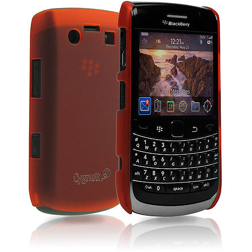 Cygnett Frost Matte Slim Case for BlackBerry Bold 9700, Red