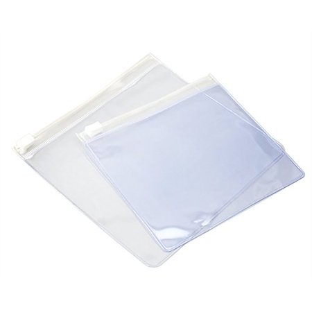 100 Pcs Aspire 6 6 Mil Slider Zip Bag For Crafts Jewelry Gifts Receipts   7 X 6 Inch