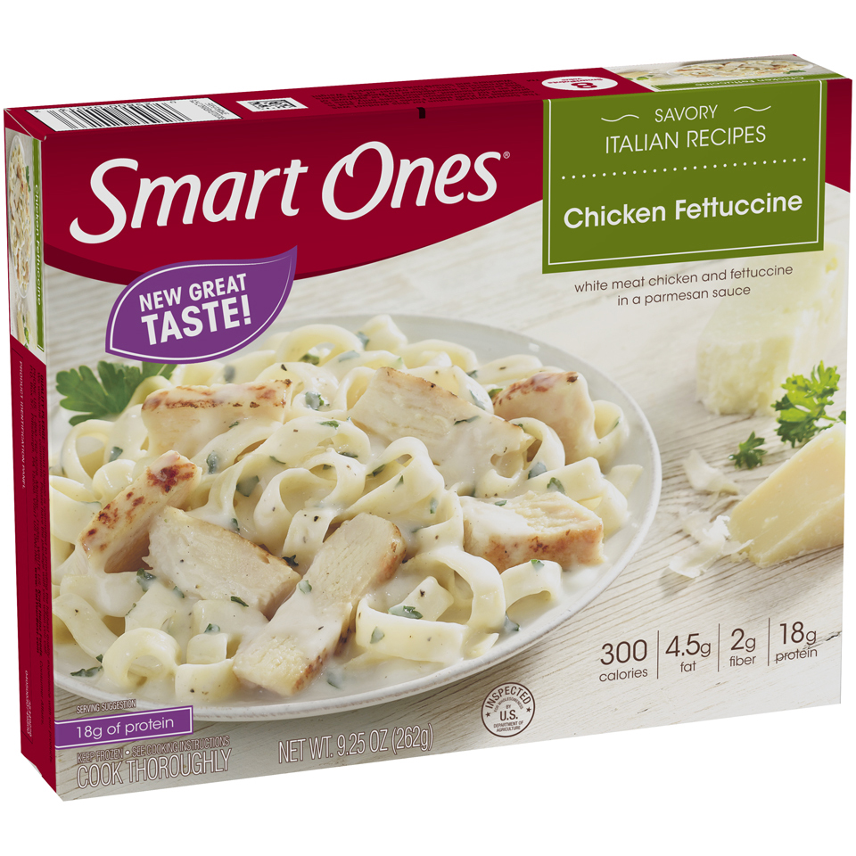 Smart Ones® Savory Italian Recipes Chicken Fettuccine 9.25 oz. Box