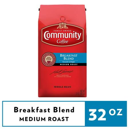 Community® Coffee Breakfast Blend Medium Roast Ground Coffee 32 oz. Bag