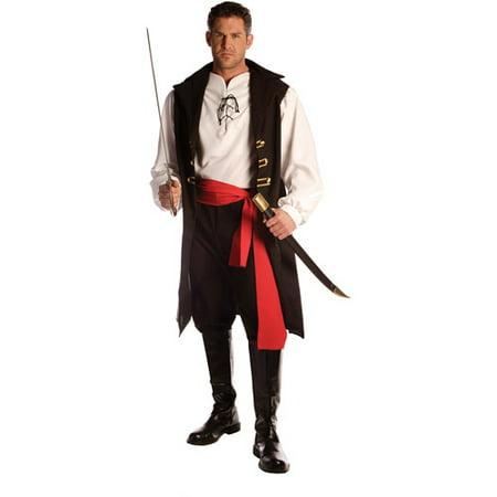 Captain Cutthroat Men's Adult Halloween Costume - One Size 42-46](Cutthroat Kitchen Halloween)