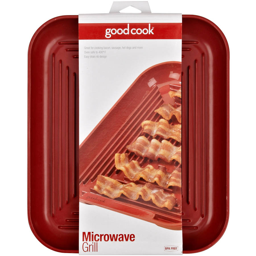 Good Cook Microwave Bacon and Meat Grill Plate
