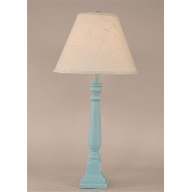 Coast Lamp 12-B8B Square Buffet Lamp - Weathered Turquoise Sea
