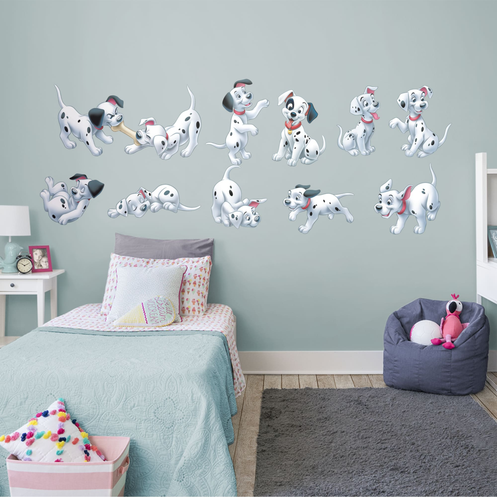 101 dalmatians wall decal ae1159
