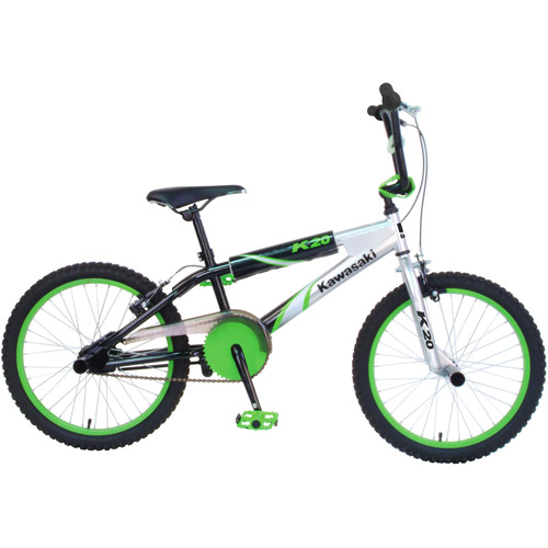 "20"" Kawasaki Boys' BMX Bike"