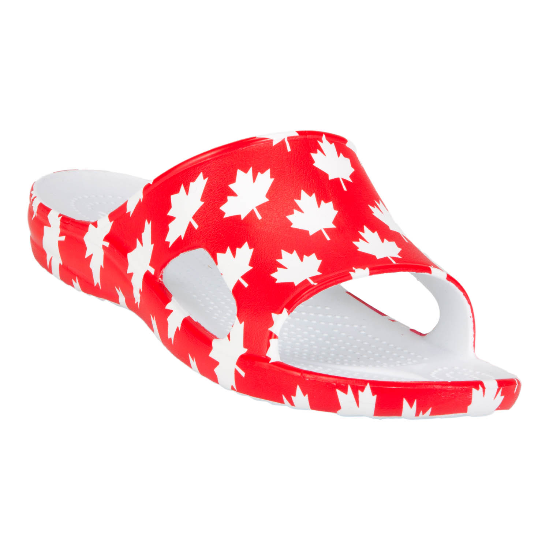 Men's Dawgs Slides Canada (Red/White