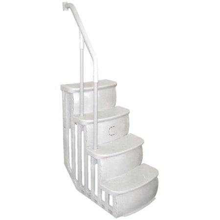 Main Access 200600T Smart Step Pool Entry for Above Ground Pool, White ()