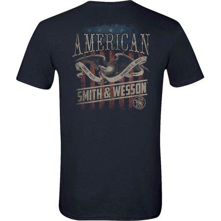 Smith & Wesson Men's Vintage American Eagle Poster Short Sleeve