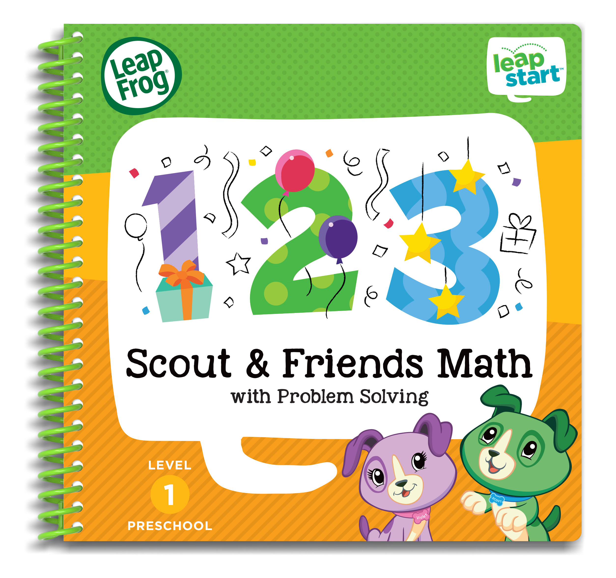 LeapFrog LeapStart Preschool Math Activity Book by LeapFrog®