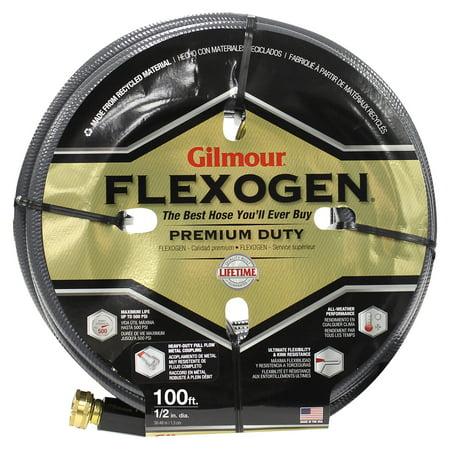 Gilmour 8-ply Flexogen 1/2 inch x 25 ft. Garden Hose 8 Ply Flexogen Garden Hose