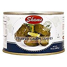 Shams Stuffed Grape Leaves Homemade Style 14 Oz. (Pack Of 3.) - Cool Homemade Halloween Stuff