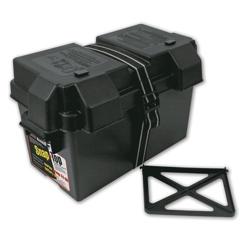 Snap-Top Everstart Marine Battery Box