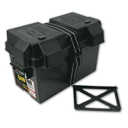 Cars Rv Marine (NOCO Snap-Top HM318BK Group 24-31 Battery Box for Automotive, Marine, and RV)
