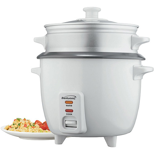 Brentwood TS-480S 15-Cup Rice Cooker with Steamer