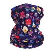 Trolls Neck Gaiter for Girl Age 4-10 , Mouth Cover Scarf Bandana
