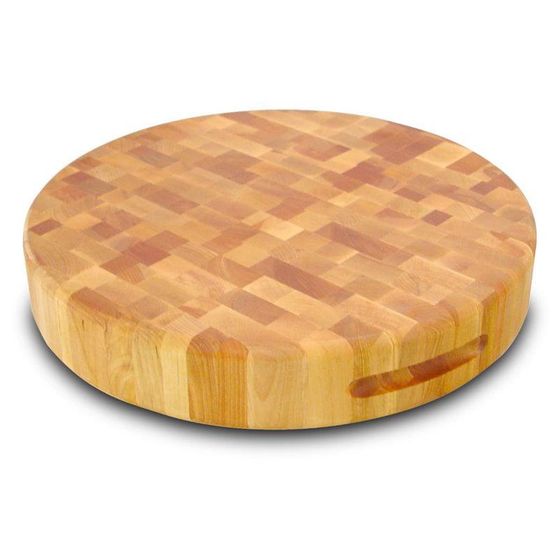 "Catskill Craftsmen 17"" Round End Grain Cutting Board in Birch"