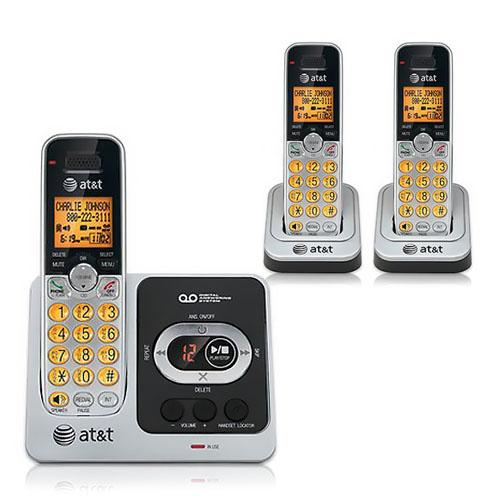 AT&T EL52351 3 Handset Cordless Phone DECT 6.0 Technology (1.9GHz)