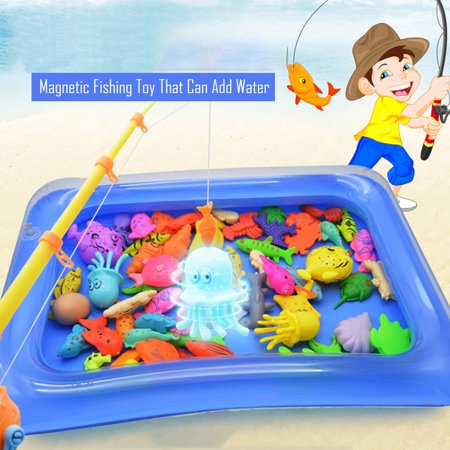 Children Fishing Toy Floating Fishing Game Inflatable Swimming - Pond Fishing Games