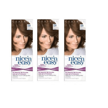 Nice n Easy Hair Color #755 Light Brown, UK Loving Care (Pack of (Best Home Hair Dye Uk)