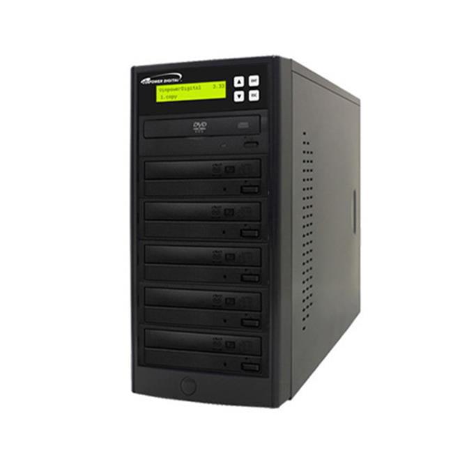 Vinpower Digital Econ-S5T-DVD-BK Econ Series 1 to 5 Target DVD CD Disc Duplicator Tower - image 1 of 1