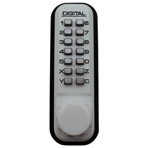 Lockey 2200 2000 Series Surface Mount Keyless Entry Single Combination Mechanical Deadbolt