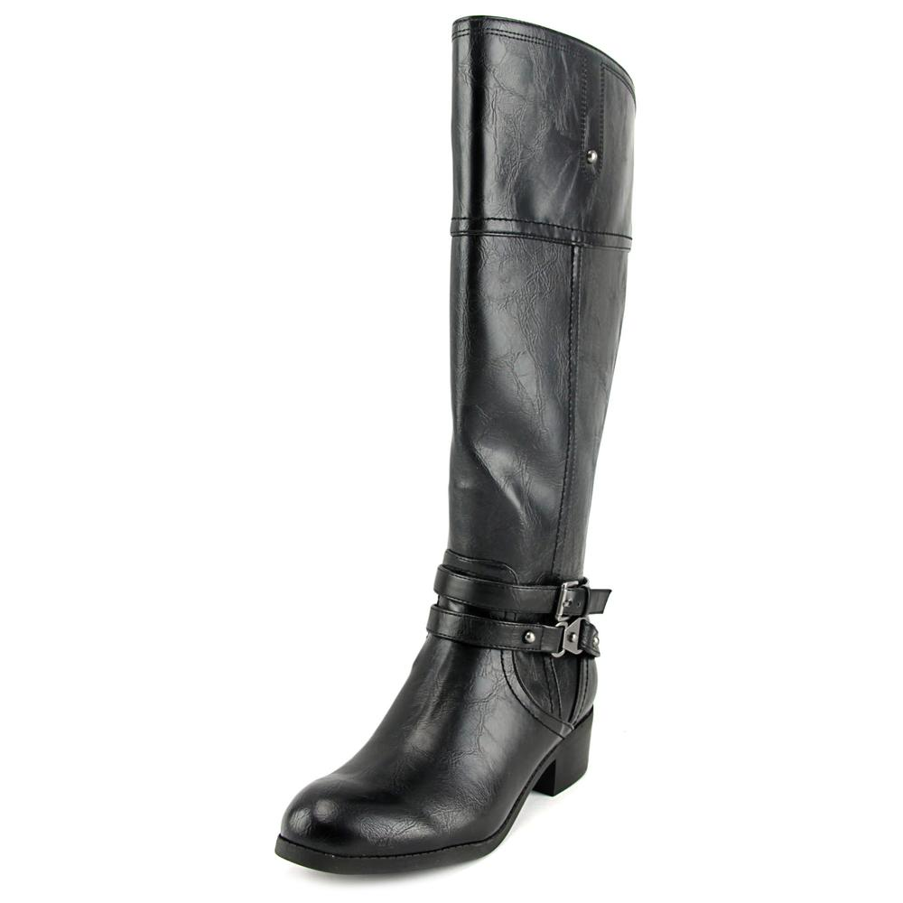 Unisa Tereza Wide Calf   Round Toe Synthetic  Knee High Boot