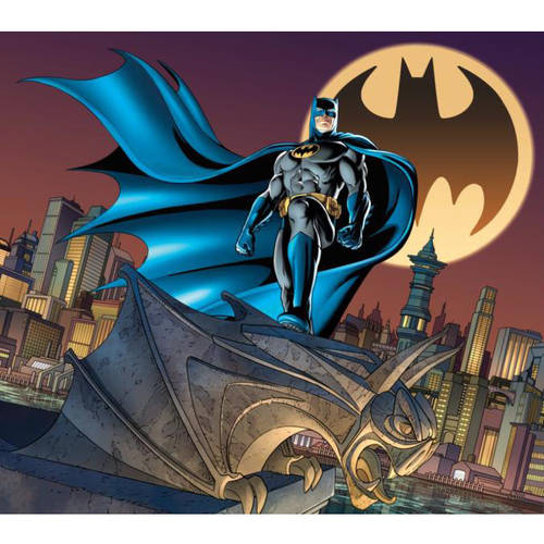 "Batman Gotham City Light Up Wall Art, 19"" x 24"""