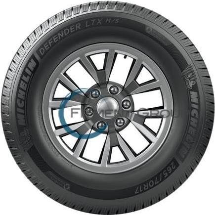 Michelin Defender Ltx Ms Reviews >> Michelin Defender LTX M/S Tires 265/75R16 - Walmart.com