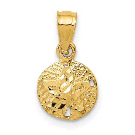14kt Yellow Gold Sand Dollar Sea Star Starfish Pendant Charm Necklace Shore Shell Fine Jewelry Ideal Gifts For Women Gift Set From Heart